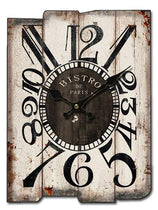 Rustic Wood Wall Clock, Old Wood Pieces