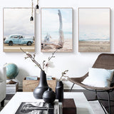 Seascape Scenes Canvas Prints