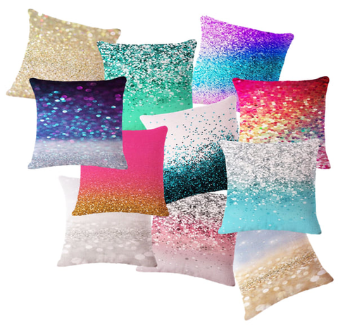 Sequin Sparkle Throw Pillows