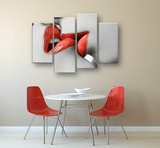 Sexual Red Lips Wall Art Set