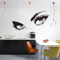 Sexy Eyes Wall Mural Decal, Audrey Hepburn