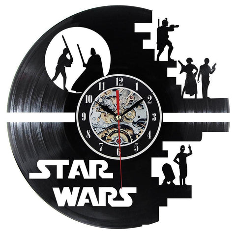 Star Wars Characters Novelty Clock Gift