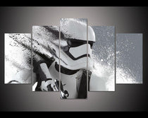 Star Wars Multi-Panel Canvas Set, Storm Trooper Wall Art