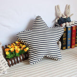 Striped Starfish Shaped Cushion