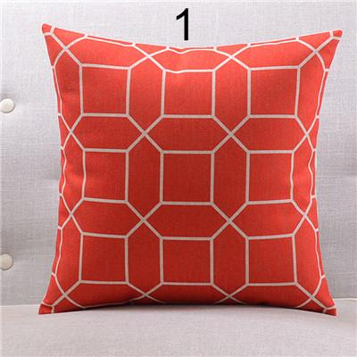 Colorful Geo Pattern Throw Pillows