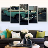 Vintage Classic Car Ford Fairlane Convertible Wall Art