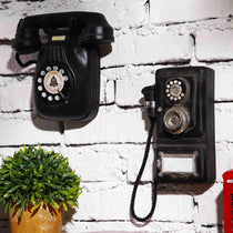 Vintage Telephones Wall Decor