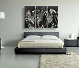 Zebra Art 3 Piece Canvas Set