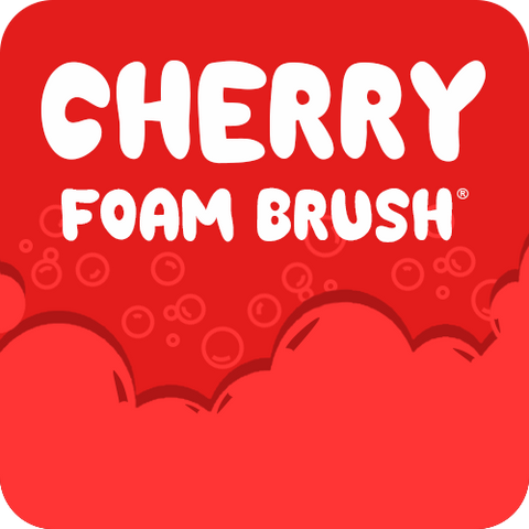 Cherry Foam Brush