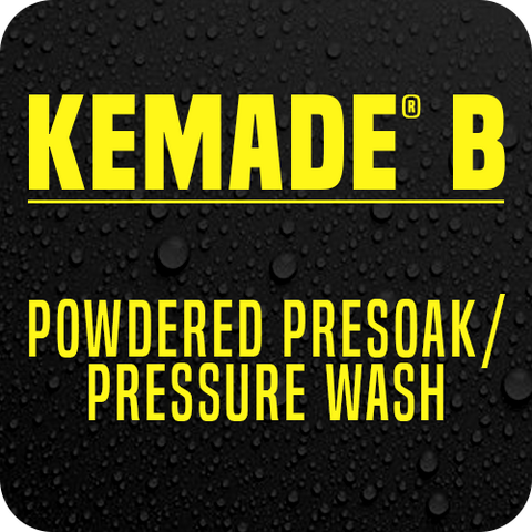 Kemade® B Powdered Presoak/Pressure Wash
