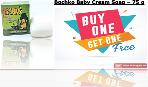 BUY ONE GET ONE FREE BOCHKO Baby Cream-soap - 75 g