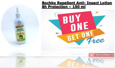 BUY ONE GET ONE FREE BOCHKO Repellent Anti-Insect Lotion 8h Protection - 150 ml