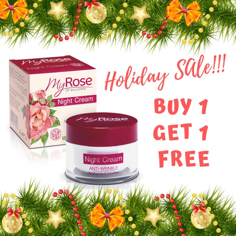 My Rose Anti wrinkle Night Cream ( Buy 1 Take 1 FREE)