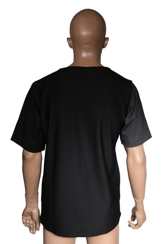 Contemporary fashion skewed shape T-shirt