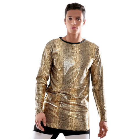 High quality Metallic long sleeve