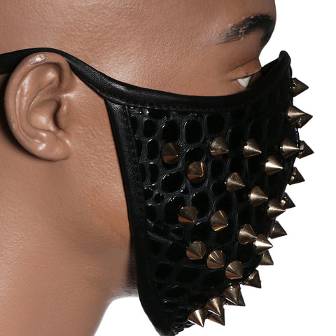 Black Spiked mask