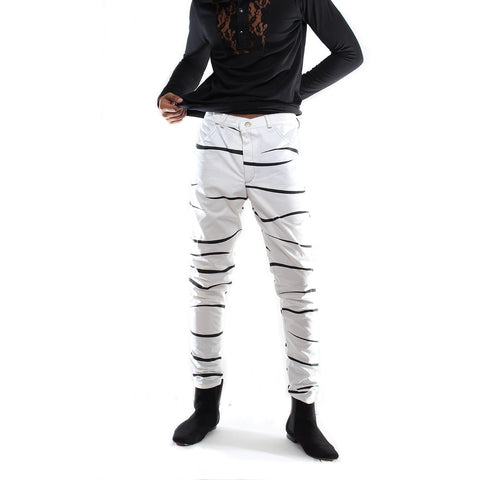 Black-White Stripped pant