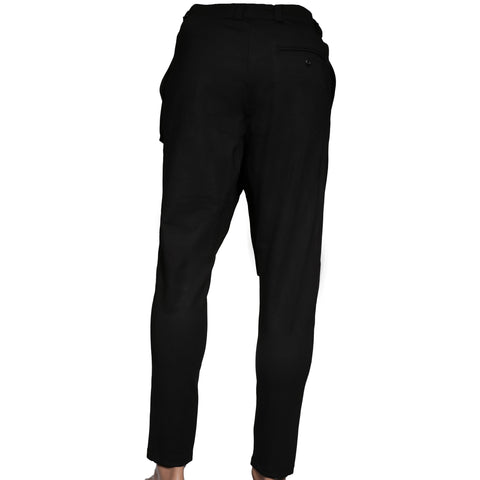 Black modern Pant with front flap I