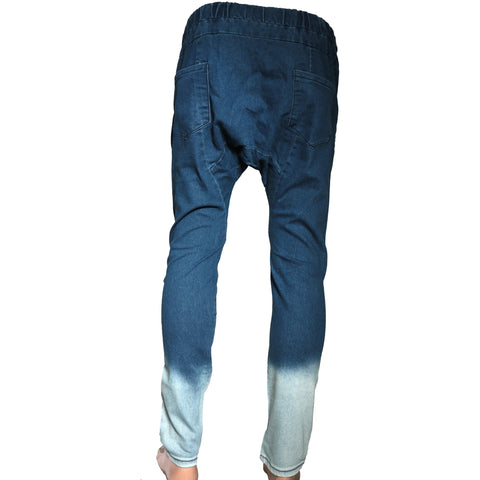 Slim fit harem denim