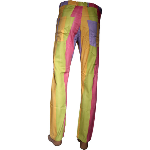 Multi-color Printed dress pant