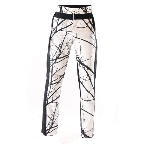 High fashion trouser with dual design