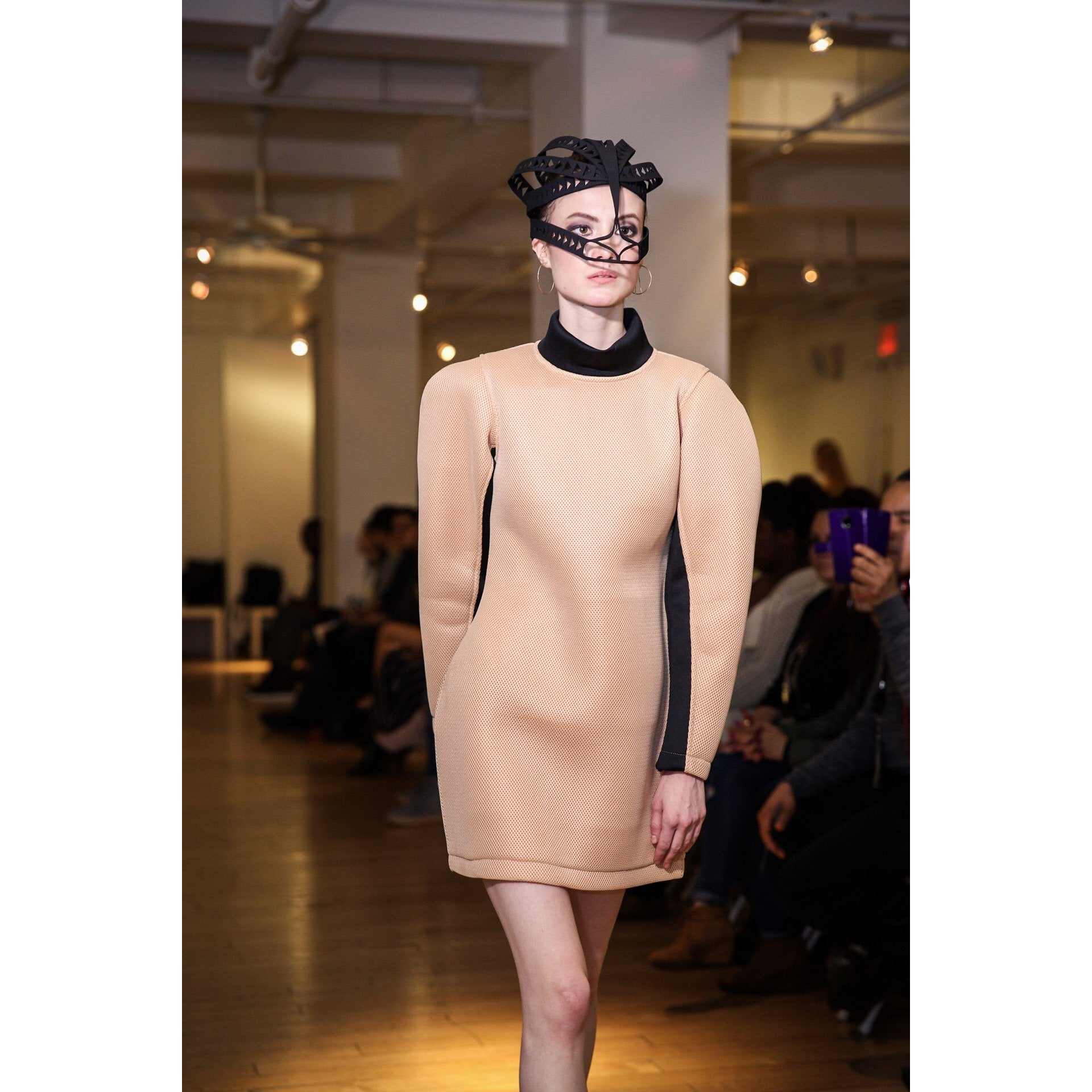 Futuristic Structured dress