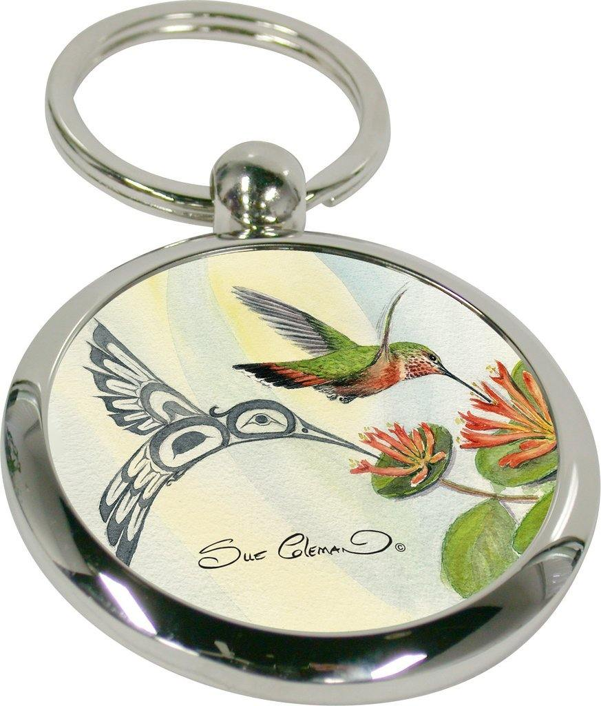 Sue Coleman Hummingbird Key Holder