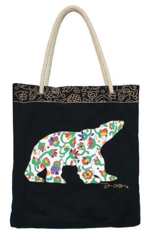 'Spring Bear' Dawn Oman Eco-Bag