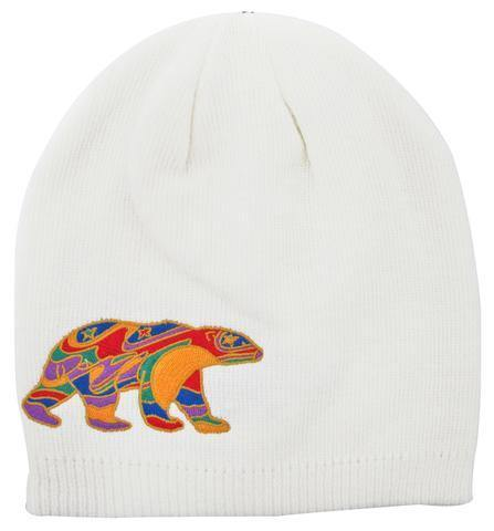 'Alpha Bear' Dawn Oman Embroidered Knitted Hat