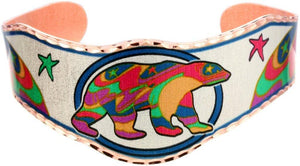 Dawn Oman Alpha Bear Copper Bracelet
