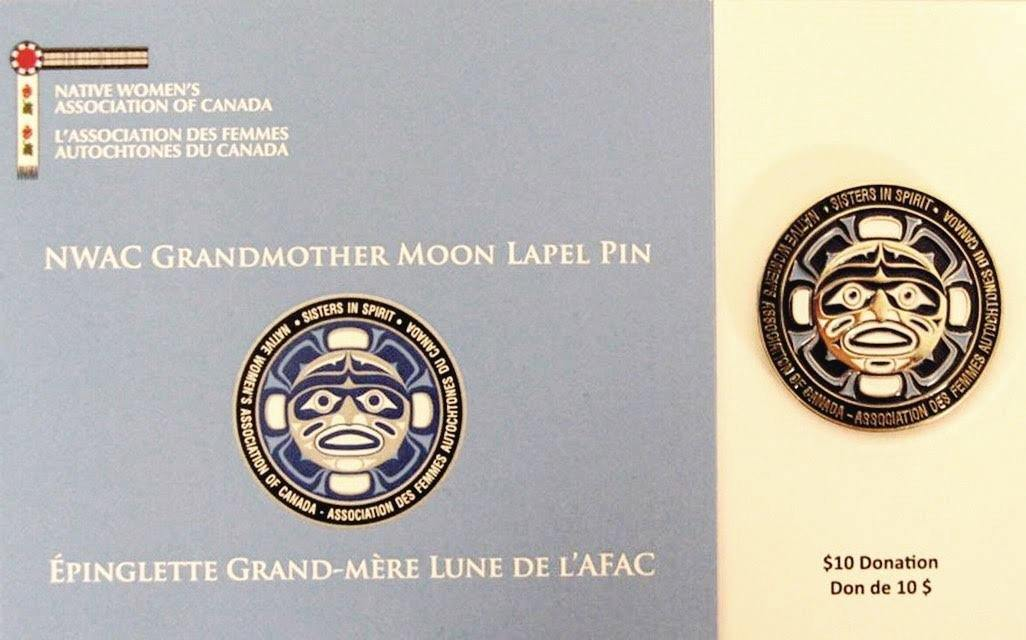 Grandmother Moon Lapel Pins