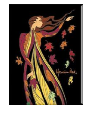 Maxine Noel 'Leaf Dancer' Magnet