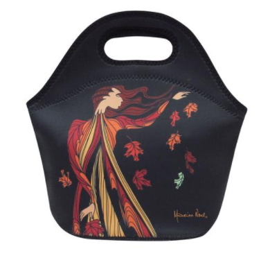 Maxine Noel 'Leaf Dancer' Insulated Lunch Bag