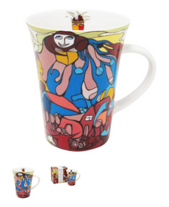 Daphne Odjig Indian in Transition Porcelain Mug