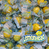 Lemonhead Candy Bulk 3 Pound Box Individually Wrapped Candies