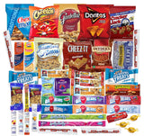 Snack Favorites Care Package Packed with 54 LOVED BY EVERYONE Treats