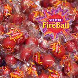 Bulk Atomic Fireballs 3 Pound Box Hard Candies for Pinata Filler Party Candy Buffet