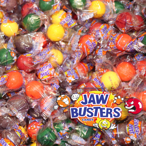 Bulk Jaw Busters Candy 3 Pounds Assorted Hard Sucking Candies