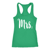 Mrs. Shirt for After the Big Wedding Day choice of Style and Color