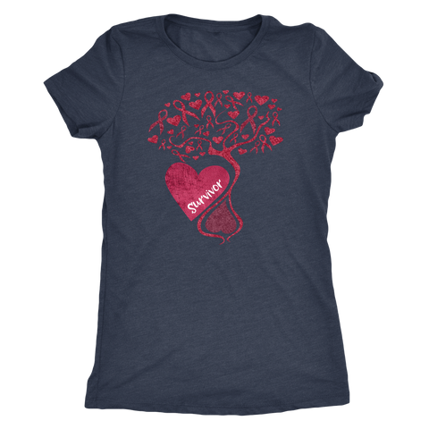 Cancer Awareness Tree of Hope Cancer Survivor Shirt in Choice of Style