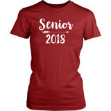 Senior 2018 T shirt for Women Choice of Color, Tees and Tanks
