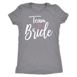 Team Bride Shirt for Bridesmaids Wedding Party Gifts