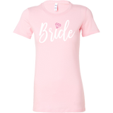 Bride Shirt for Bachelorette Party, Rehearsal Dinner in Tank, Long Sleeve and 2 Women's Fits