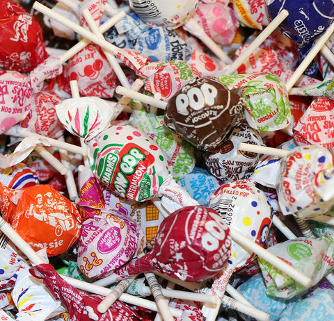 Suckers and Lollipops 5 LBS Bulk Candy Individually Wrapped Variety Pack