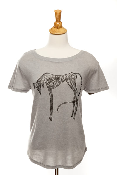 Brodie our Saluki - Tee Shirt - Vintage