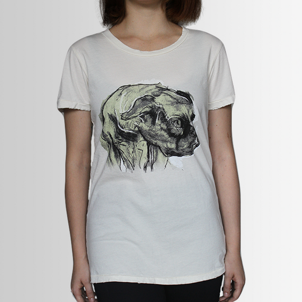 Diego our Bulldog - Tee Shirt - Distressed - more colours