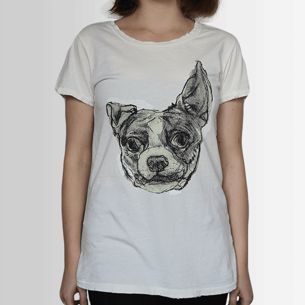 Rosco our Goofy French Bulldog - Tee Shirt - Distressed - more colours