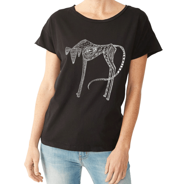 Brodie our Saluki - Tee Shirt - Rocker Style