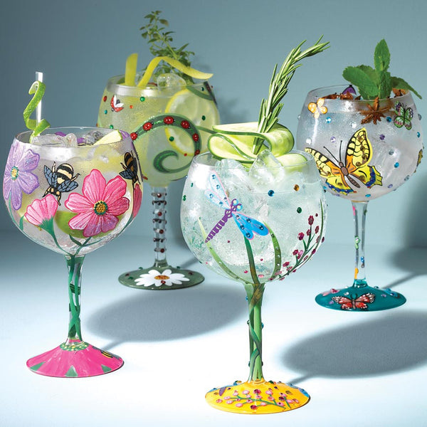 New Nature themed Lolita Gin Glasses!