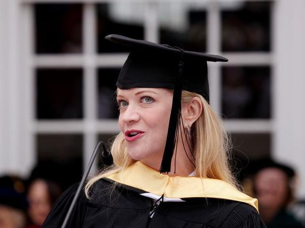 Lolita Gives Commencement Address at Mary Baldwin College